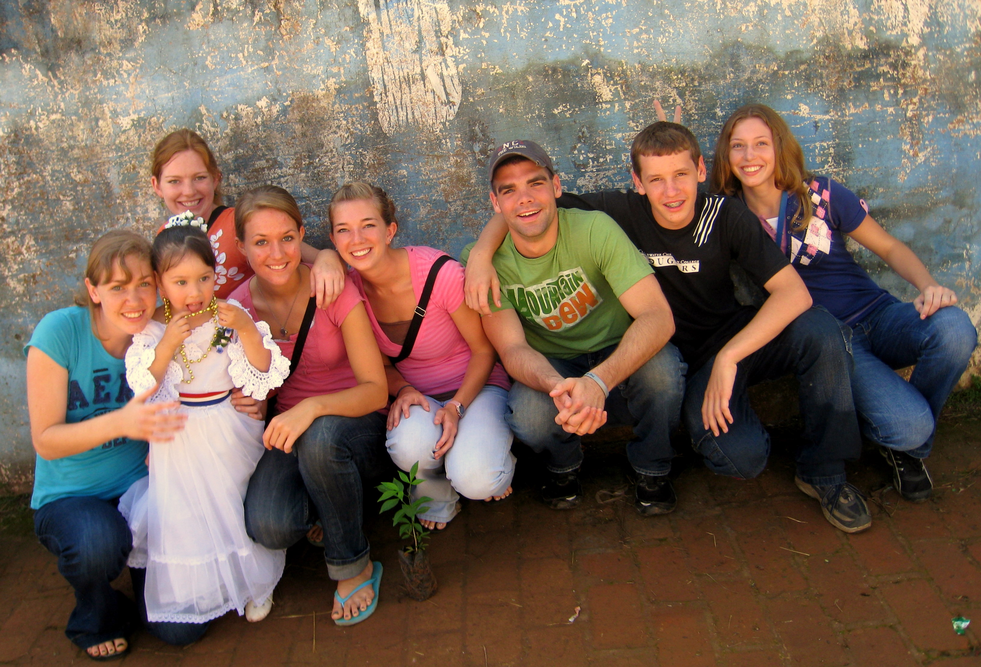 Stoltzfoos Family: Paraguay: Part 2 |Paraguay Family With Godparents